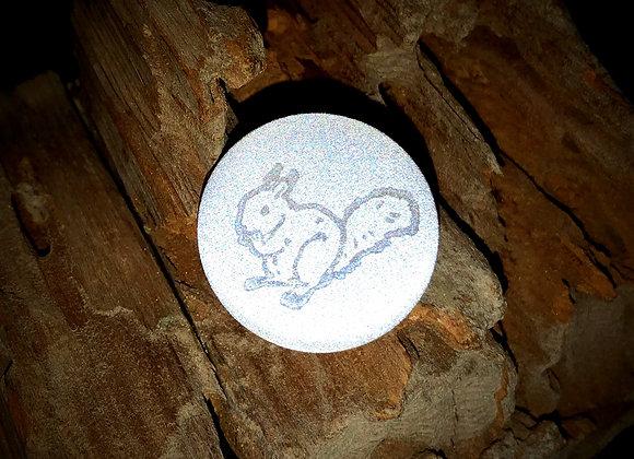 squirrel, small pin