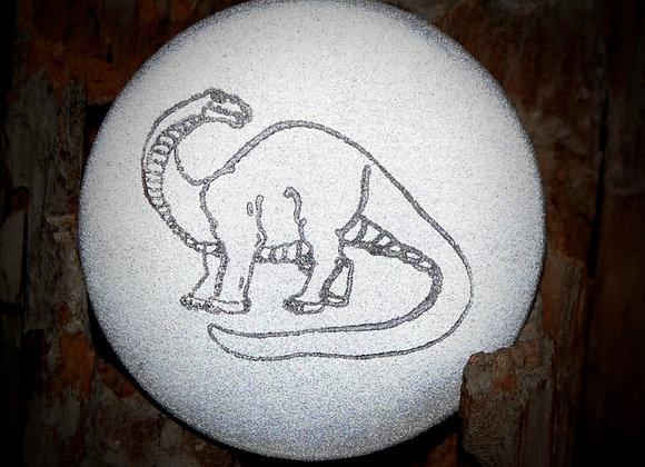 brontosaurus, large pin