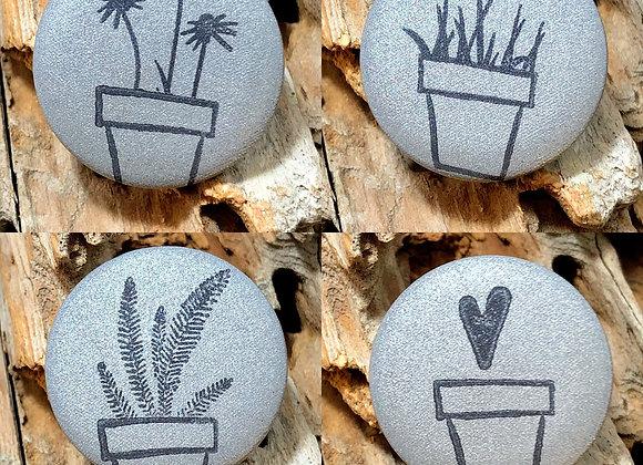 houseplant love, small pin set