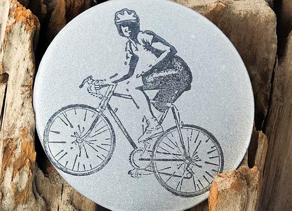 biker, large pin