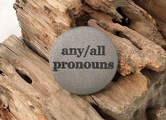 any/all pronouns