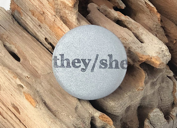 they/she, greyscale
