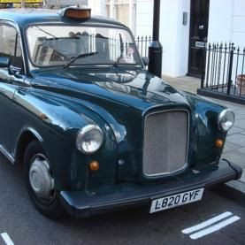 Image Of A London Taxi