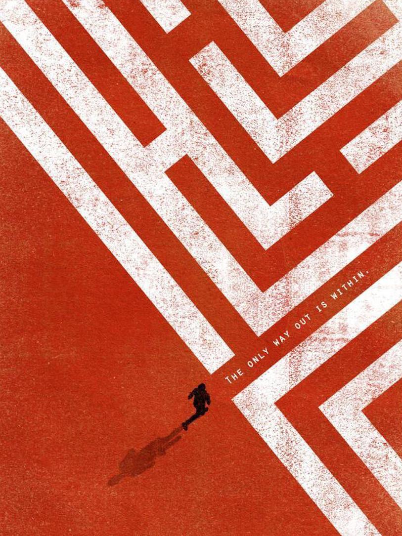 Image Of A Person Entering A Maze
