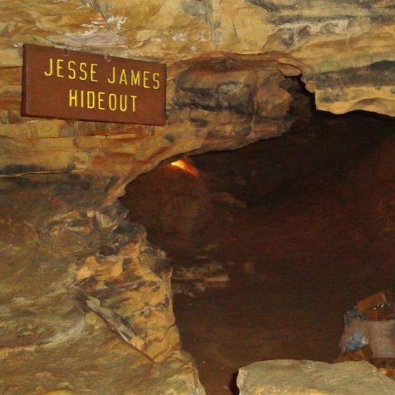Image Of Mark Twain Cave In MI