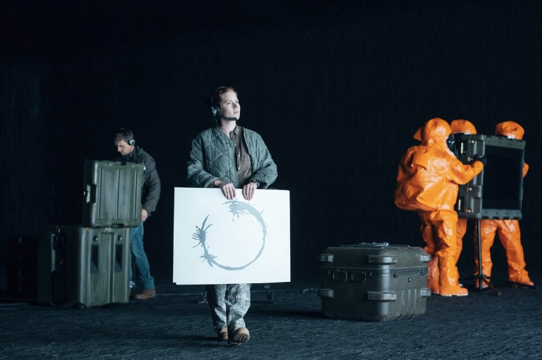 Image From A Scene From The Movie THE ARRIVAL