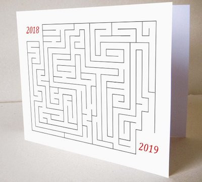 Image Of A Maze From 2018 To 2019