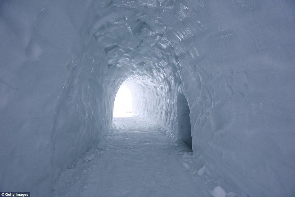 Image Of Poland Maze Ice Tunnels