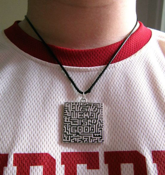 Image Of A Maze Necklace