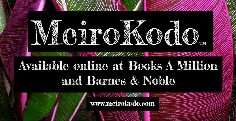 MeiroKodo Logo Image Announcing BooksAMillion and Barnes&Noble