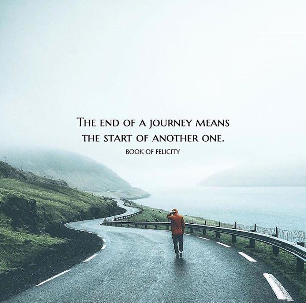 Image Of A Quote About Taking A Journey