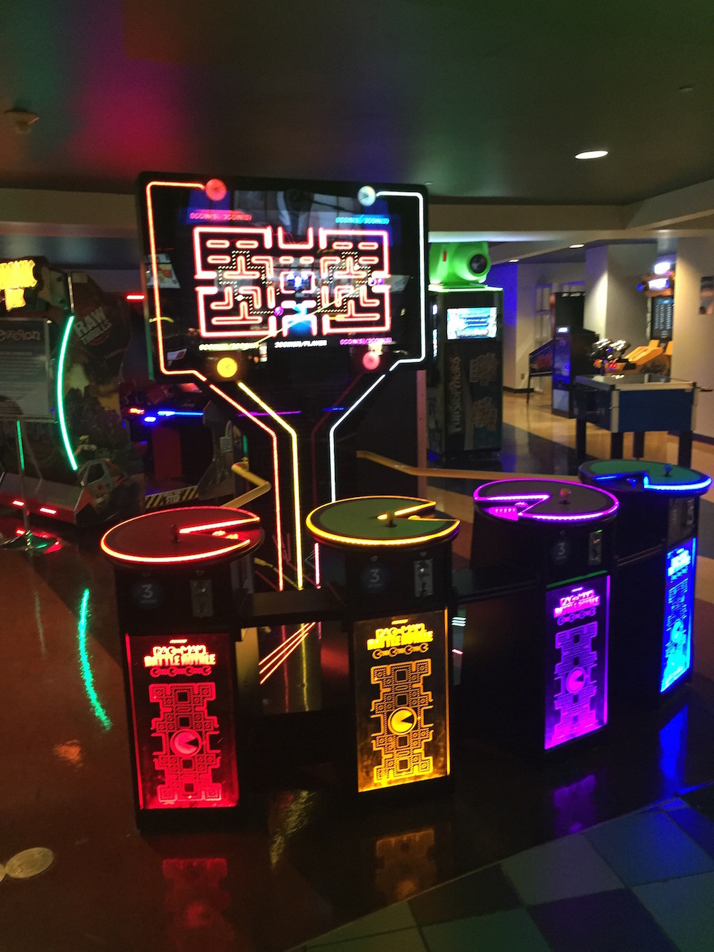 Image of MultiPlayer PacMan game