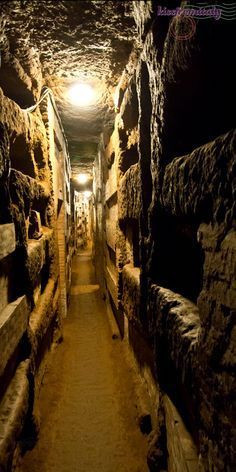 Image Of The Catacombs In Rome