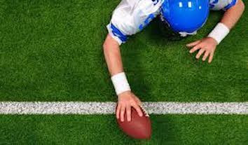 Image Of Football Player Making A Touchdown