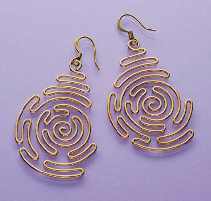Image Of Labyrinth Earrings