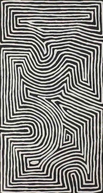 Image Of Hand Drawn Maze Art