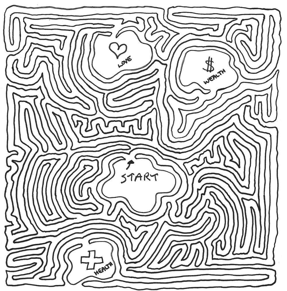 Image Of A Maze By MeiroKodo