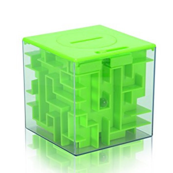 Image Of A Coin Bank In The Shape Of A Maze