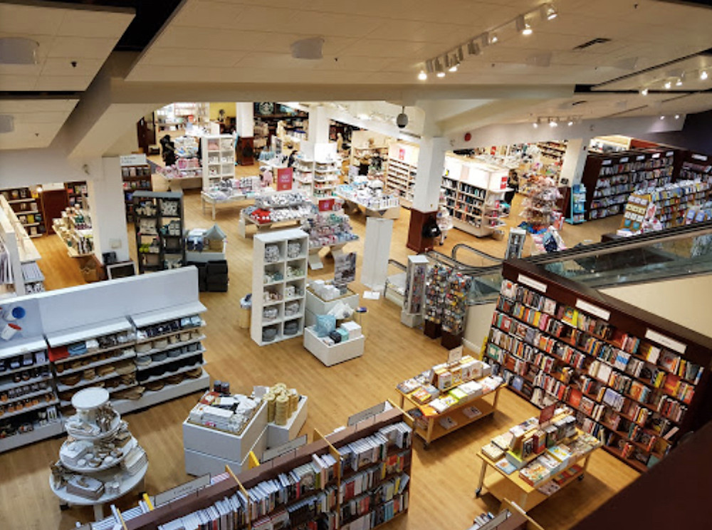 Image Of An Interior Shot Of Chapters Bookstore Montreal QC CANADA