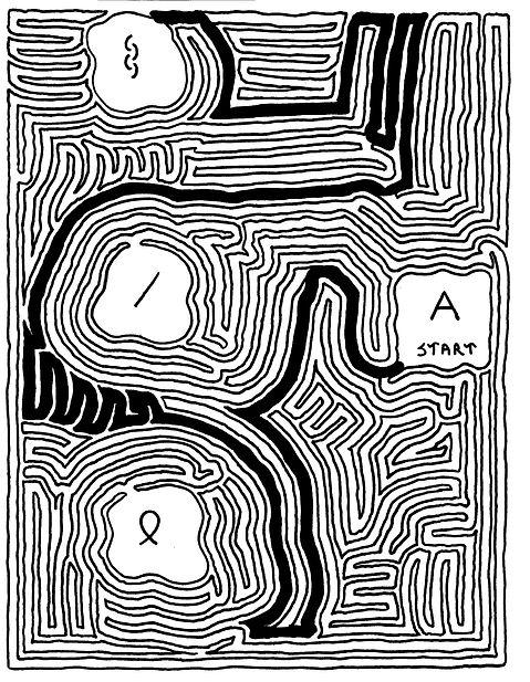 A MeiroKodo Solved Maze