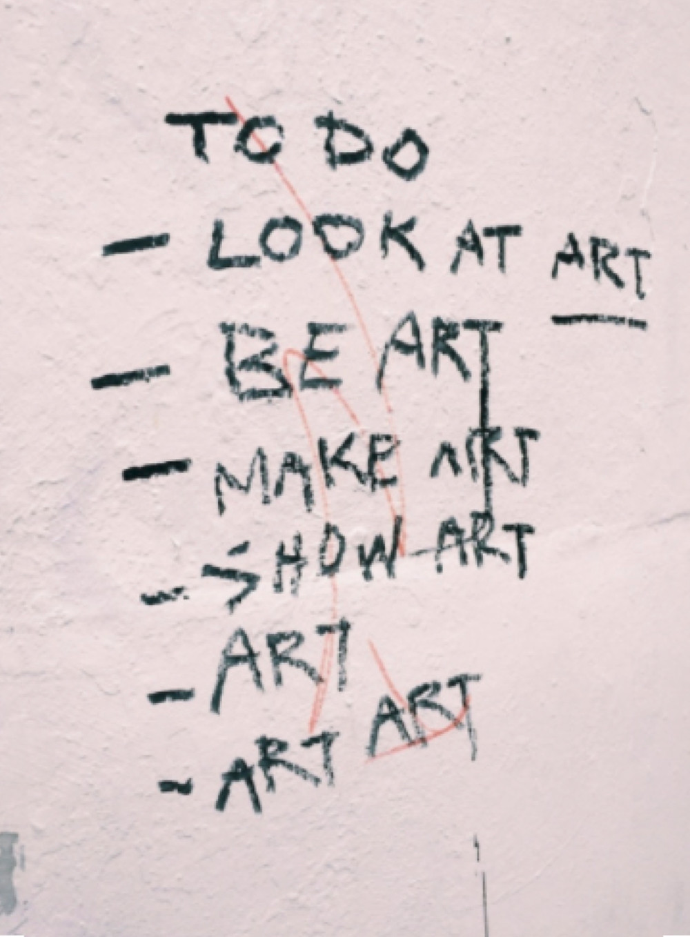 Image Of To-Do List For Artist