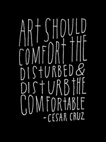 Image Of A Quote About ART