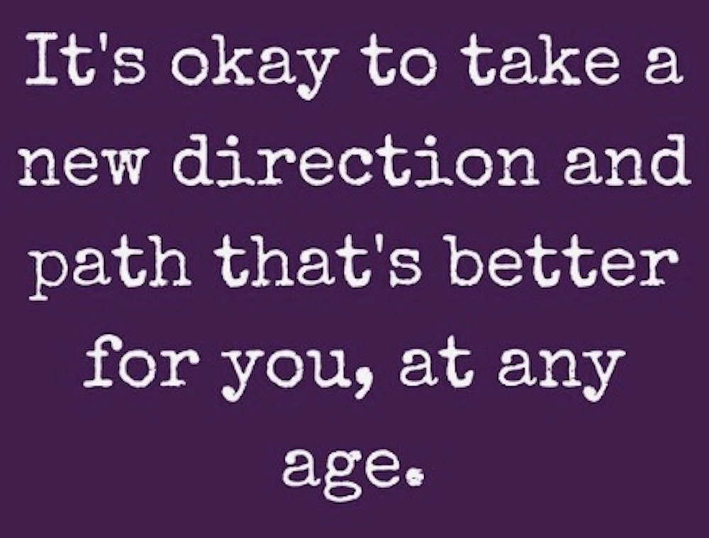 Image Of Text About Starting A New Path In Life