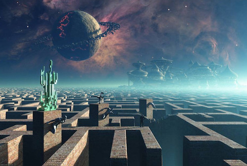 Image Of A Picture Of Maze World
