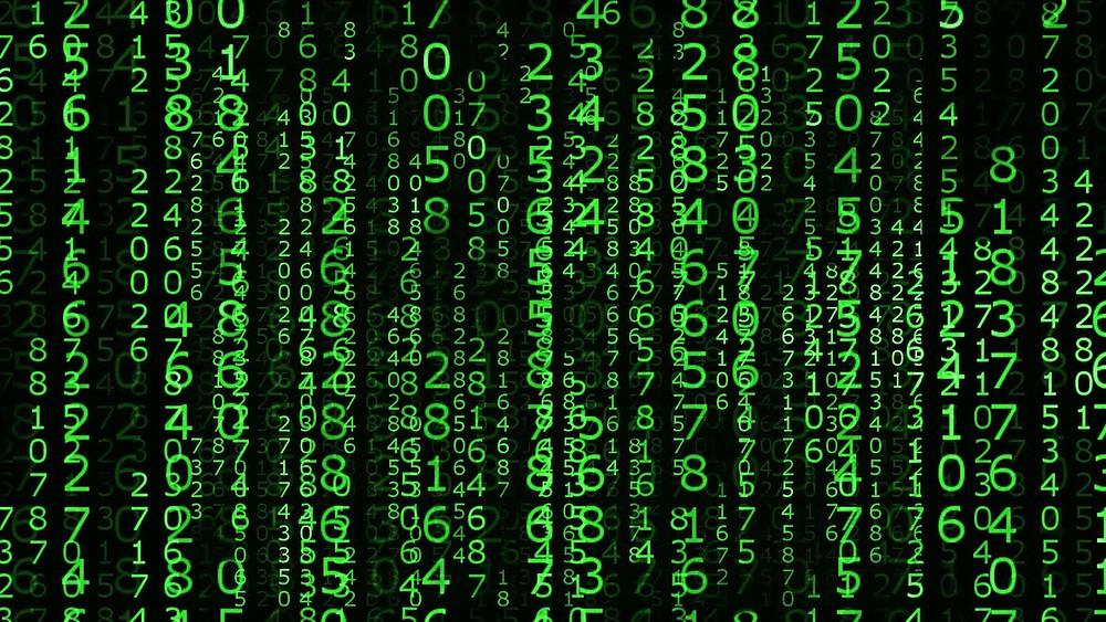 Image Of The Matrix Code