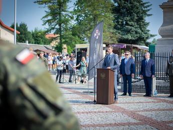 Przysięga Wojsk Obrony Terytorialnej w Tykocinie.