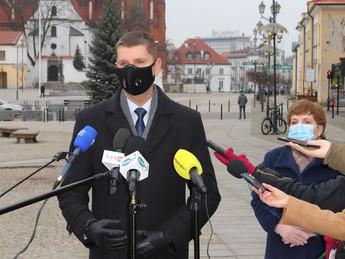 Spotkanie z dyrektorami szkół z województwa podlaskiego.