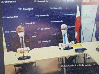 Podpisano umowę na realizację Obwodnicy Suchowoli