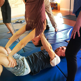 Acro Yoga Candlestick with Brian Yuen