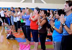 Global Mala yoga festival.