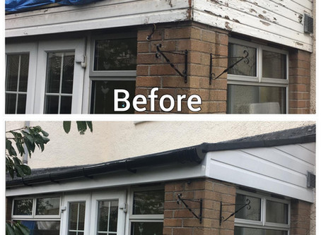 ⚒️ Replacement of Extension Roof, Fascias and Guttering ⚒️
