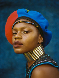 '2009' | Inspired by the Vibrancy of Ndebele People and Culture