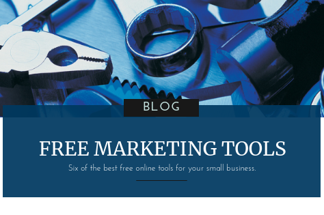 Six of the best free tools for small business marketing