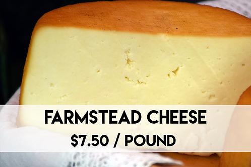Farmstead Cheese - 1 Pound