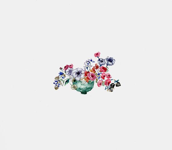 Fleuriste de mariage à Genève | Évènements | Décoration florale | Lilas et Rose | Fleurs de mariage | Fine art floral studio | Atelier floral suisse | Swiss wedding florist | Geneva floral design & events | Dessin 1