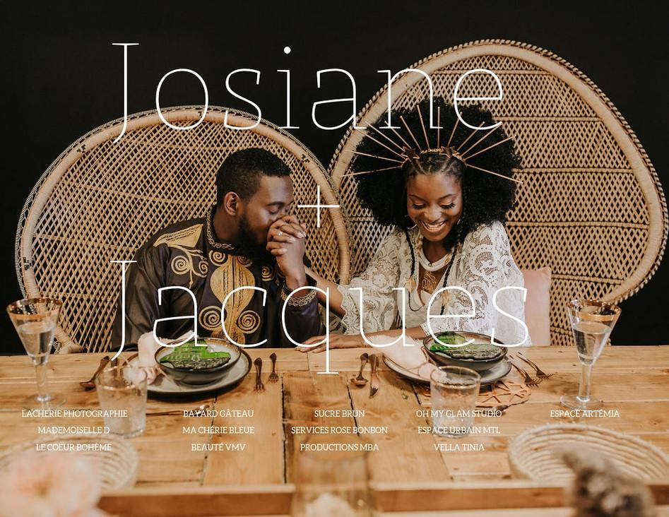 Mariage : Josiane et Jacques