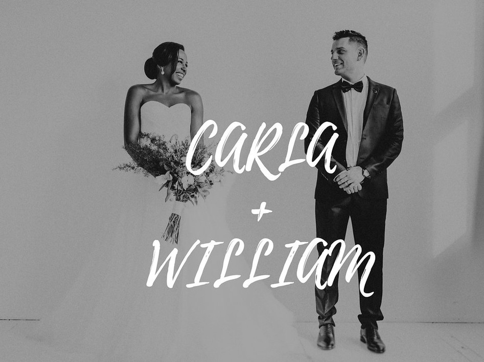 Mariage : Carla + William
