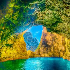 Blue Grotto, Malta.