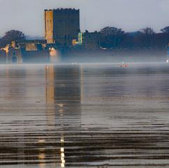 Porchester Castle.