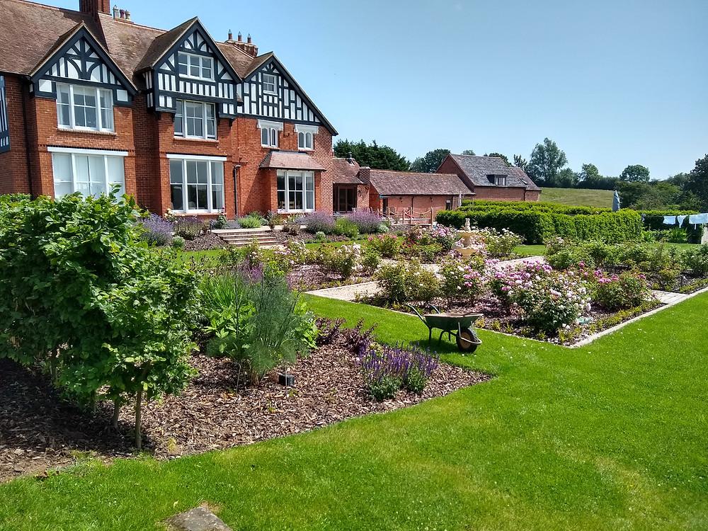 Envisage Gardens rose garden design