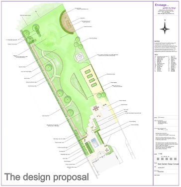Envisage garden design plan proposal