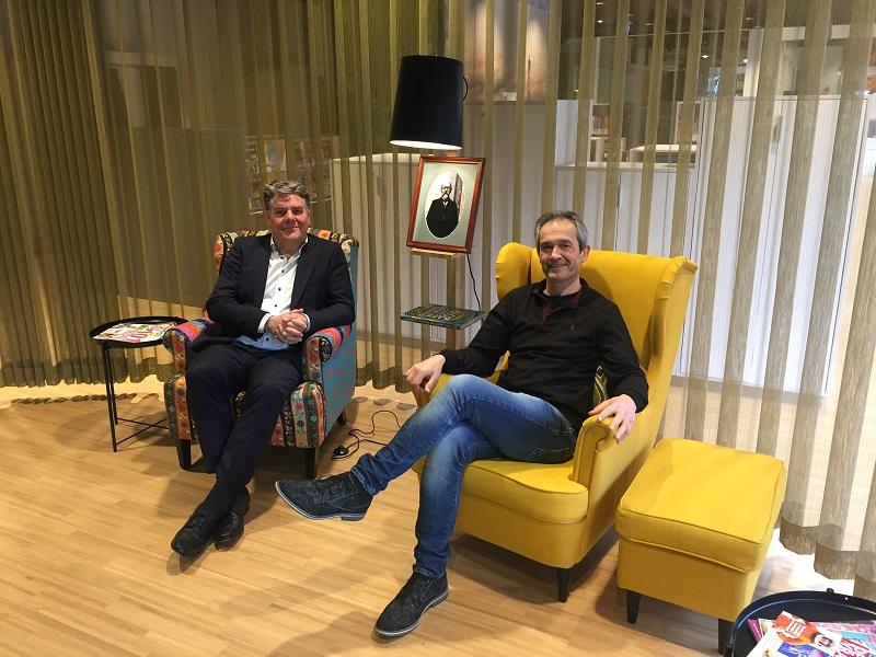 Hans Olsthoorn en Bart Vervaecke