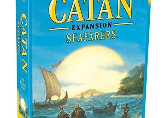 Catan Seafarers Game Expansion, 5th Edition