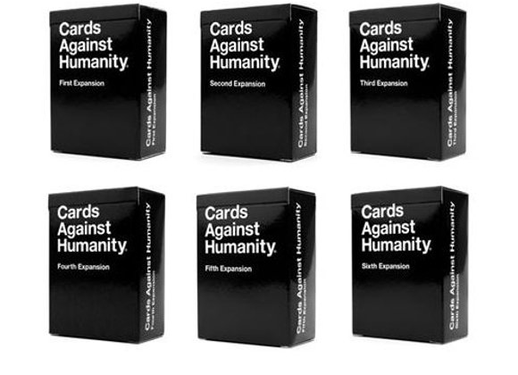 Cards Against Humanity – 1-6 Expansion Sets