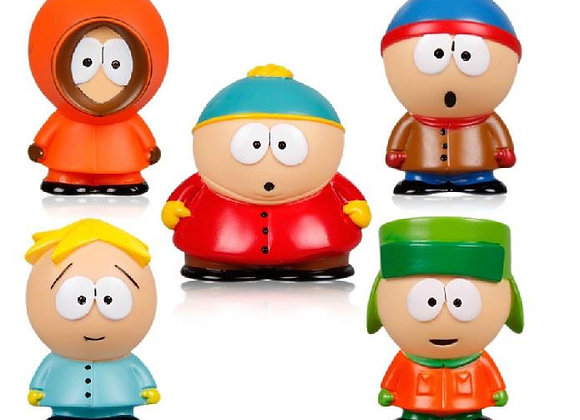 5 pcs South Park Figure Set
