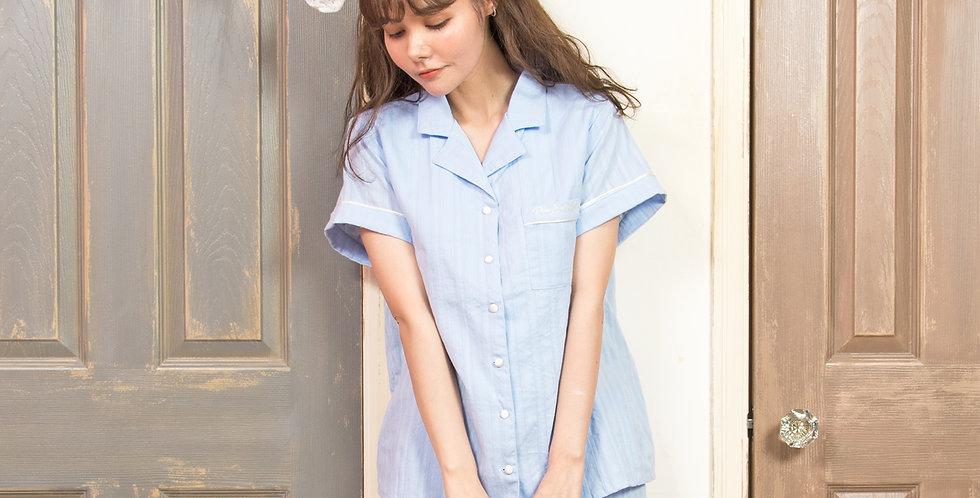 Go!trip  コットンシャツ上下セット(無地) piu-048-1